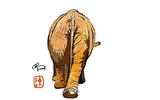 Where Do The  Elephants Go by Debbi Chan