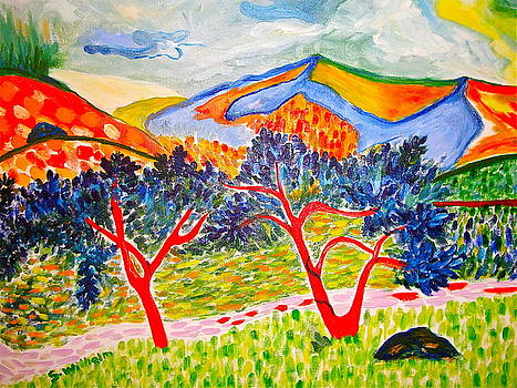 Where The Wild Painter's Are by Esther Wilhelm Pridgen