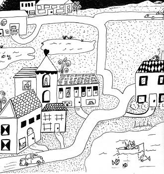 Whimsy Town by Lou Belcher