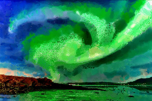 Whirlwind over Iceland by Mario Carini