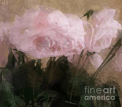 Whisper of Pink Peonies by Alexis Rotella