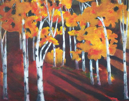 Whispering Birch by Sally young Mason