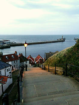 Whitby After Sun Down by Sarah Couzens