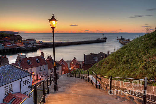 Whitby Steps by Martin Williams