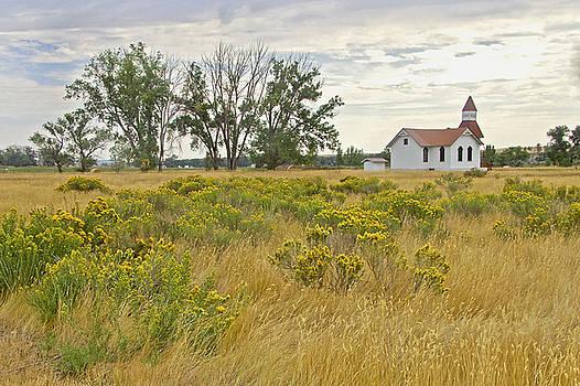 James Steele - White Church in Montana
