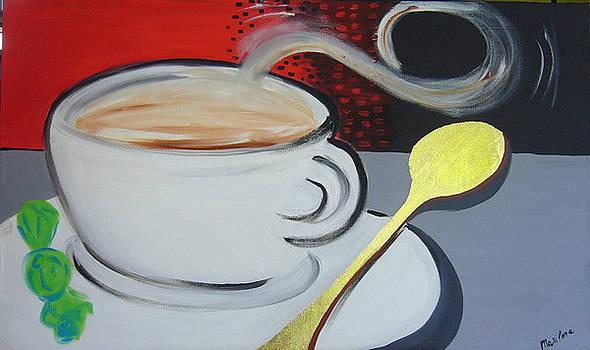 White coffee by Marilena  Pilla