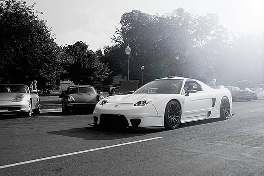 White Custom NSX  by Joel Witmeyer