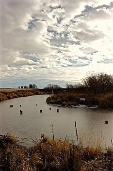 White Earth River Bend by Brian Sereda