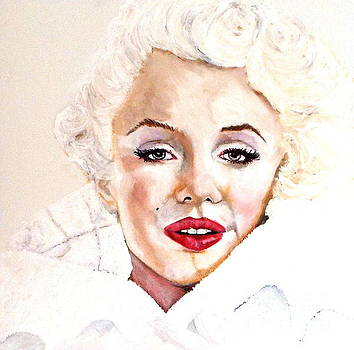 White Marilyn by Cass Oest