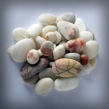 White Pebbles 2 by Marinela Feier