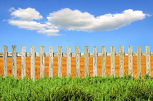 White Picket Fence by Steven  Michael