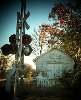 White Post Station by Joyce Kimble Smith