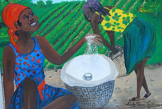 White Rice Merchant by Nicole Jean-Louis
