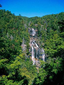 White River Falls by Tom Zukauskas