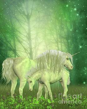 Corey Ford - White Unicorn Family