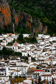 White Village of Ubrique Spain by Bruce Nutting