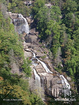 White Water Falls NC by Lane Owen