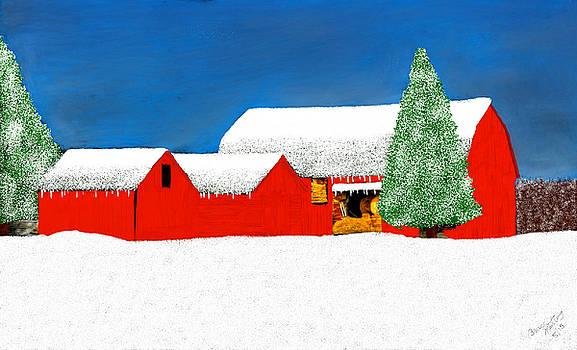 White Winter Wonderland by Bruce Nutting