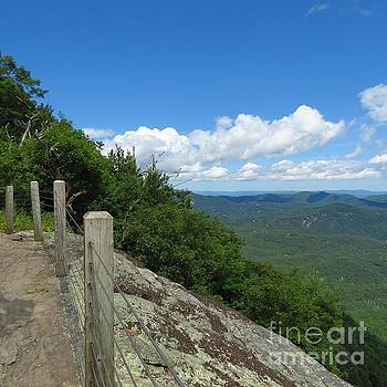 Whiteside Mountain View by Anita Adams
