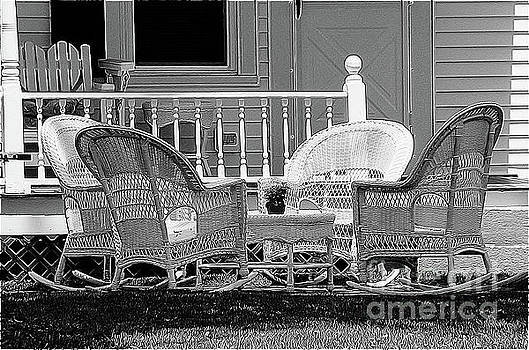 Wicker Dreaming by Betsy Zimmerli