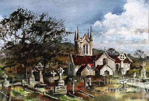 Wicklow... Kilmac Church by Val Byrne