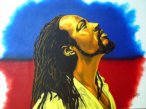 Wiclef Jean ''God with Haiti'' by Hector Monroy