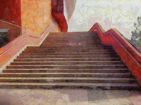 Wide open stairs by Ashish Agarwal