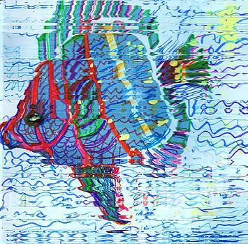 Wiggly Waggly Fishy by Anne-elizabeth Whiteway