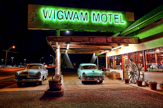 Wigwam Motel by Jason Abando