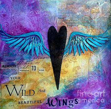 Wild and Beautiful Wings by Donna Martin
