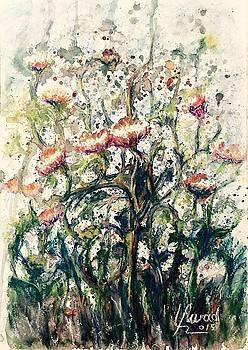 Wild flowers # 2 by Laila Awad Jamaleldin