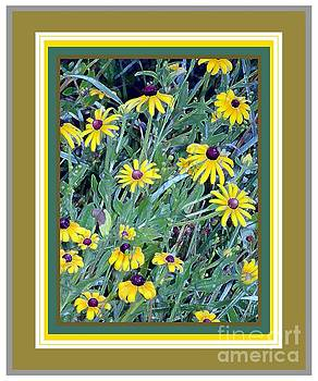 Wild Flowers with Brown Eyes by Shirley Moravec