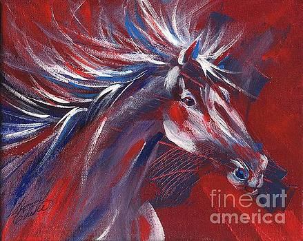 Wild Horse Bust by Summer Celeste