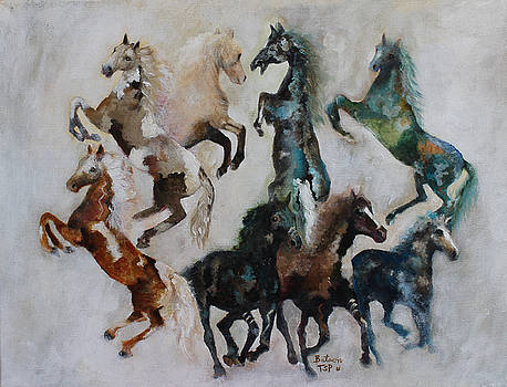 Wild Horses Are Coming by Barbie Batson