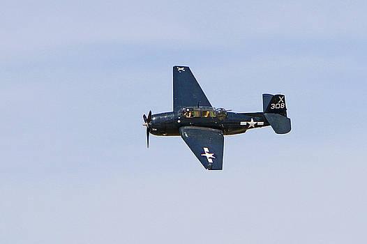 TBE-3E Avenger in Flight by Shoal Hollingsworth