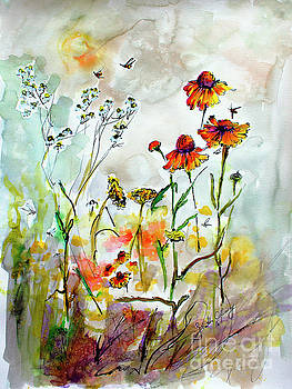 Ginette Callaway - Wildflower Gathering #2