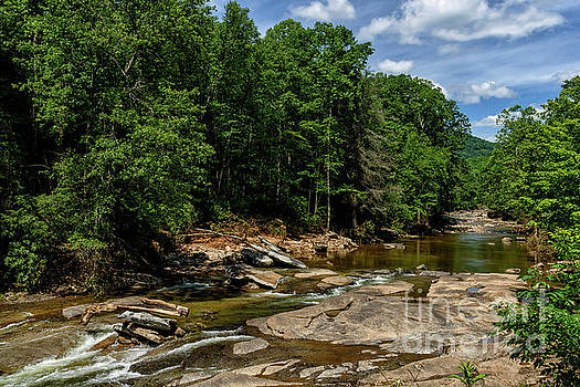 Williams River after the Flood by Thomas R Fletcher