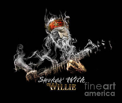 Willie Smoken' by Rob Corsetti