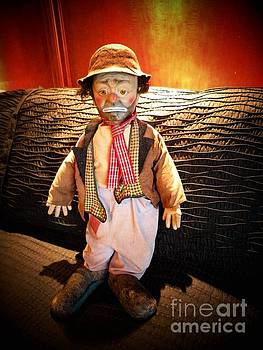Willie the sad clown by Rita H Ireland