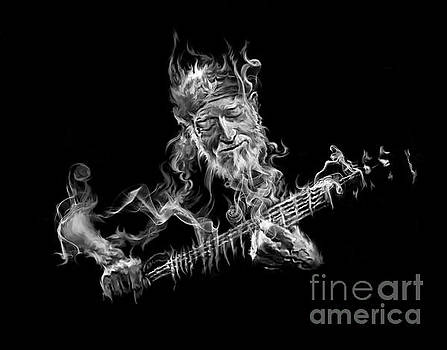 Willie - Up In Smoke by Rob Corsetti