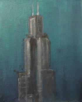 Willis Tower 0 by Jeffrey Oleniacz