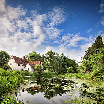 Willy Lott's House Flatford Mill by Colin and Linda McKie