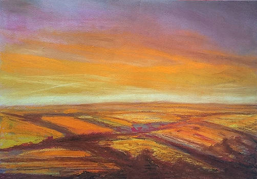 Wiltshire Landscape 2 by Paul Mitchell