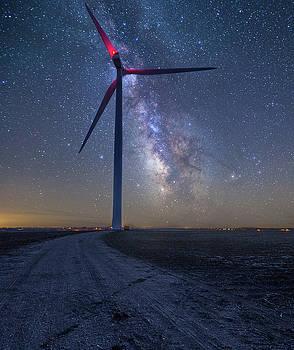 Wind  by Aaron J Groen