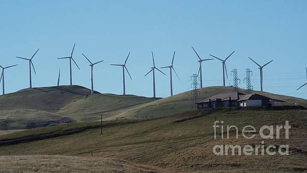 Wind Farm by Brett Chambers