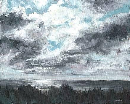 Wind on the Ocean by Irene Pruitt