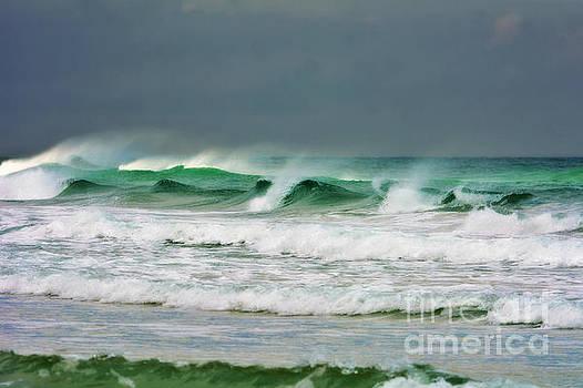Wind Swept Waves by Kelly Nowak