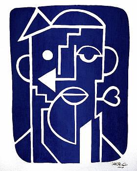 Wind Up Man by Erod Art by Robert R Splashy Art Abstract Paintings
