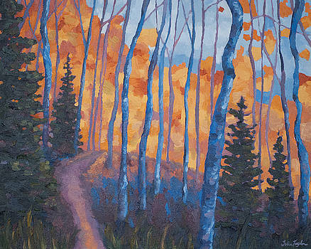 Winding through the Trees by Julia Taylor