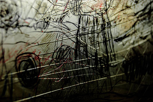 Window Drawing 02 by Grebo Gray